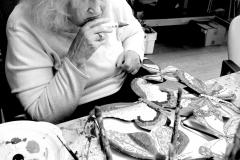 In het kunstatelier van De Leeuwenhoek
