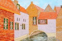 Leeuwenhoek kunstatelier voorbeeld van werk